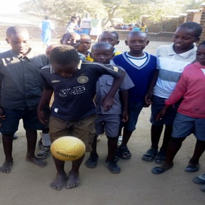 Malawi boys playing